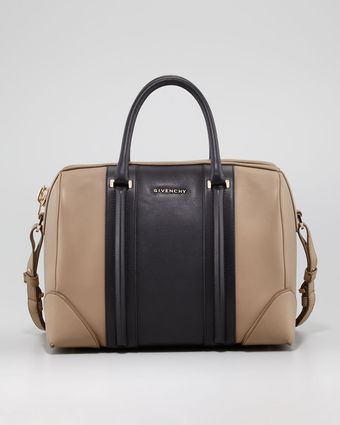 Givenchy Lucrezia Colorblock Satchel Bag Medium - Lyst