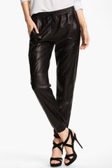 Vince Leather Pants - Lyst