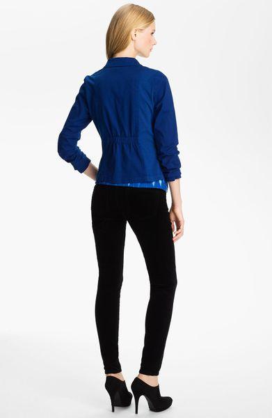 Xcvi Wearables Xcvi Elkhorn Blazer in Blue (electric blue) - Lyst
