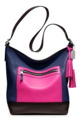 Coach Legacy Colorblock Leather Large Duffle - Lyst