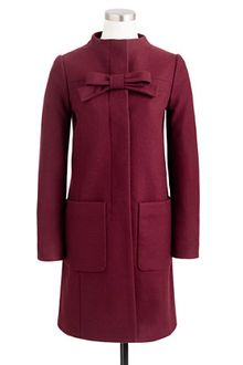 J.Crew Bow Coat - Lyst