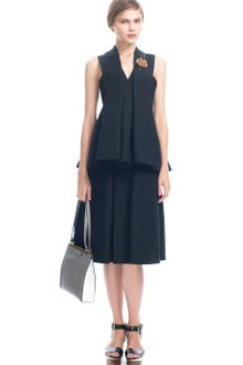 Marni  Coal Sleeveless Tunic - Lyst