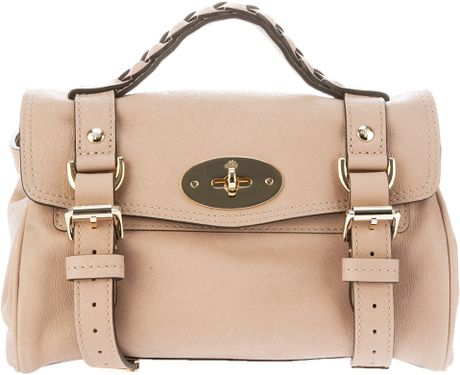 Mulberry Mini Alexa Bag in Beige (nude)
