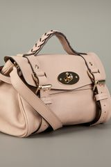 Mulberry Mini Alexa Bag in Beige (nude) - Lyst