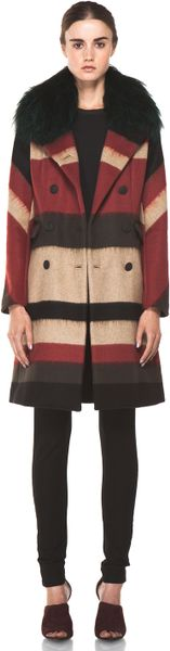 Rag & Bone Winsor Coat in Black in Multicolor (black) - Lyst