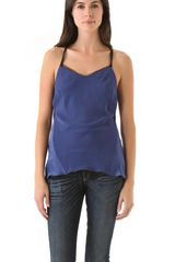 Rag & Bone Teo Camisole in Blue - Lyst