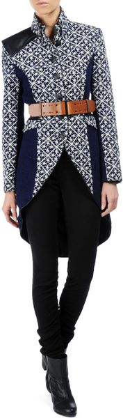 Rag & Bone Trooper Tailcoat in Blue (indigo) - Lyst