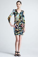 Ralph Lauren Black Label Kelby Printed Jersey Dress - Lyst