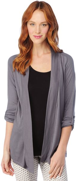 Splendid Light Jersey Cardigan - Lyst
