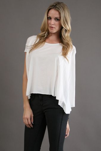 Tysa Tee in White - Lyst