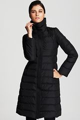 Armani Mid Length Down Coat - Lyst