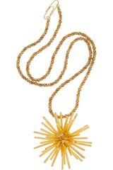 Aurelie Bidermann Condor 18karat Goldplated Necklace - Lyst