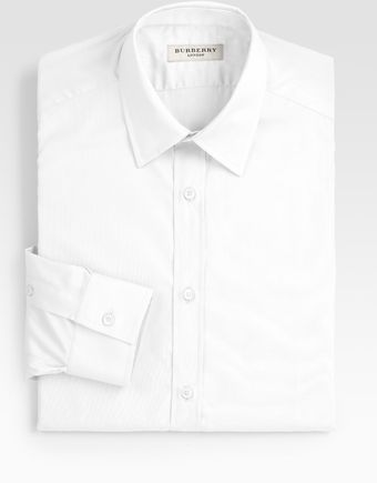Burberry Treyforth Solid Dress Shirt - Lyst