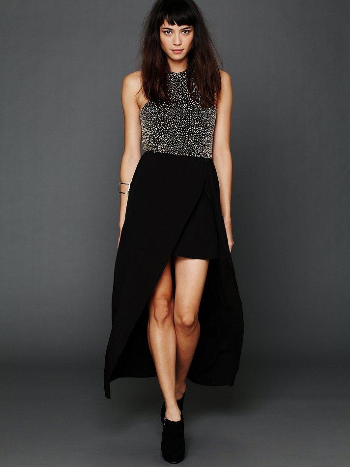 Lyst Free People Venus Racerback Maxi Dress In Black