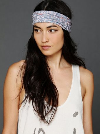 Free People Printed Wideband - Lyst