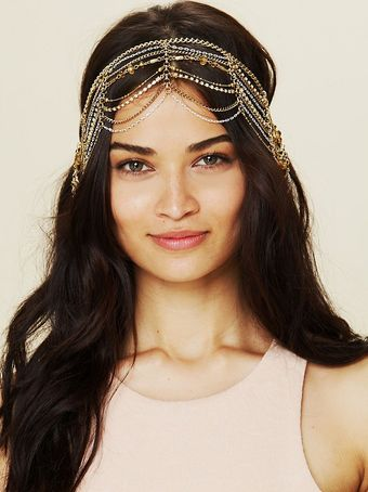 Free People Dripping Chains Headpiece - Lyst