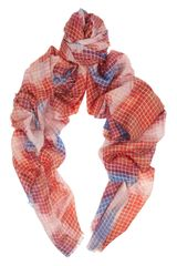 Kelly Wearstler Checked Cashmere and Silk Blend Scarf - Lyst