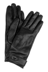 Mulberry Bayswater Cashmerelined Leather Gloves - Lyst