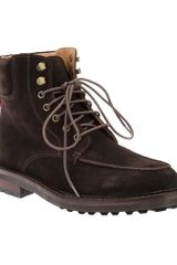 Ralph Lauren Blue Label Norbeck Boot - Lyst