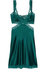 Stella McCartney Clara Whispering Stretchsilk Chemise - Lyst