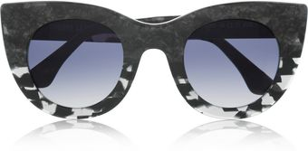 Thierry Lasry Cat Eye Marbleeffect Acetate Sunglasses - Lyst