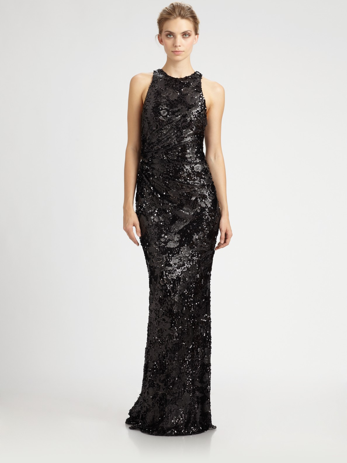 David Meister Sequin Dress