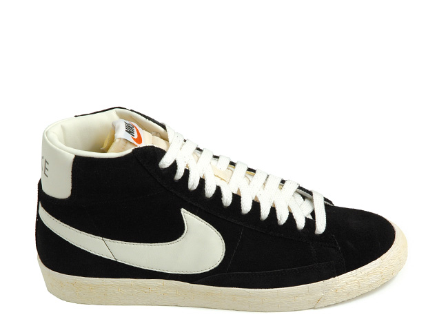 nike blazers white and black