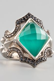 Stephen Webster Crystal Haze Chrysoprase Ring - Lyst