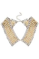 Topshop Pyramid Peter Pan Necklace - Lyst