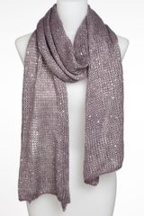 BP Sequin Metallic Knit Scarf - Lyst