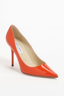 Jimmy Choo Abel Patent Leather Pump - Lyst