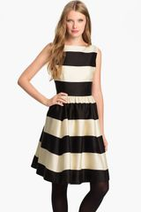 Kate Spade Carolyn Stripe Fit Flare Dress