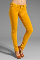 Current/Elliott The Velveteen Skinny - Lyst