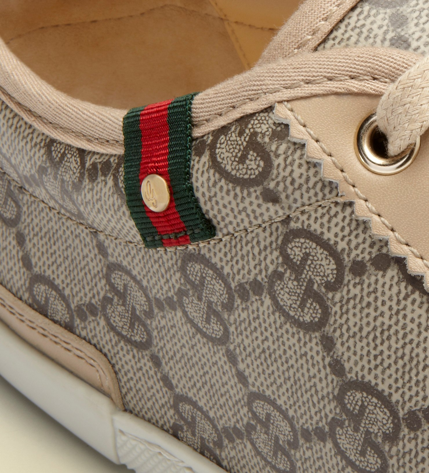 d2adaa4baa190 Lyst - Gucci Barcelona Gg Supreme Canvas Sneaker in Gray