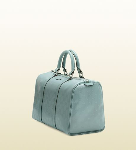 616da285b5ec27 Gucci Boston Bag Light Blue | Stanford Center for Opportunity Policy ...