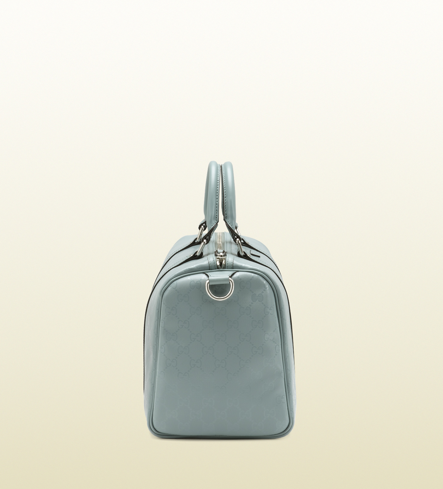 20470e8b4 Gucci Joy Light Blue Gg Imprimé Boston Bag in Blue - Lyst