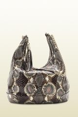 Gucci Soho Python Shoulder Bag with Chain Strap - Lyst