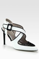 Jason Wu Peggy Crisscross Patent Leather Pumps - Lyst