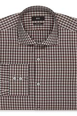 Boss Black Gerald Houndstooth Gingham Dress Shirt Regular Fit - Lyst