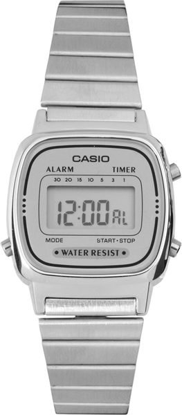 Casio Silver Mini Digital Watch - Lyst