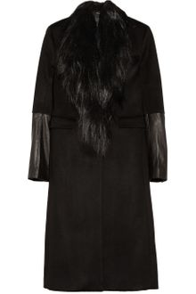 Rag & Bone Scalpel Shearlingtrimmed Wool Coat - Lyst