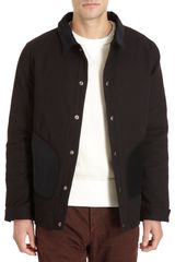 Saturdays Surf Nyc Canvas Snap Front Jacket - Lyst