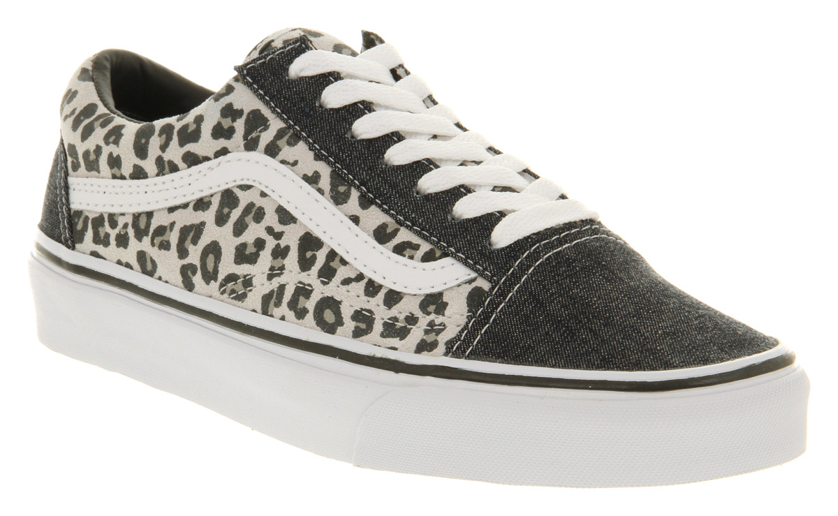 850685515cbb86 Vans Old Skool Grey Snow Leopard in Gray for Men - Lyst
