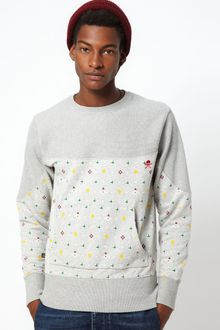 Vivienne Westwood Anglomania For Lee Sweatshirt with Orb Print - Lyst