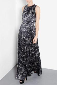 Leopard Print Maxi Dress on By Malene Birger Leopard Bineu Leopard Print Silk Maxi Dress Product 1