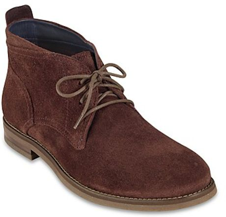 Cole Haan Air Charles Chukka Boots in Brown for Men (earth suede