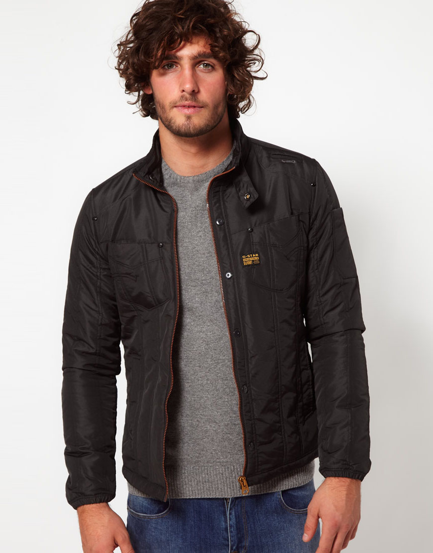 G-star raw Overshirt Jacket in Black for Men | Lyst