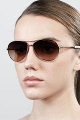 Marc By Marc Jacobs Aviator Sunglasses  - Lyst