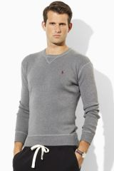 Polo Ralph Lauren Cotton Crewneck Sweater - Lyst