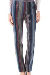Richard Chai Love Side Tab Trousers - Lyst